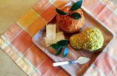 Appel- en perenbomen vormige kaas ballen
