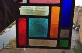 Gebrandschilderd glas kubisme Panel