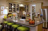Go Green met energie efficiënte keuken verlichting opties: LED-verlichting