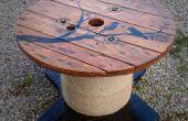 Reel/Drum tabel met aangepaste ontwerp van de kabel