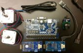 Met behulp van een Joystick controle stappenmotoren met een FPGA