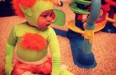 Blanka van Street Fighter II kostuum baby