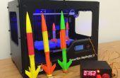 De Lanceerinrichting van de raket van Arduino Model voor 3D afgedrukt raketten
