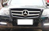IJDMTOY Mercedes Benz GLK LED Daytime Running Verlichting installeren