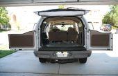 Auto geluid dodelijk - deel I - trim verwijderen, installeren sommige matten.