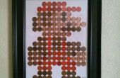 Penny mario pixelart