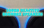 Geluid reactieve EL Wire toe te voegen aan uw BoomBox