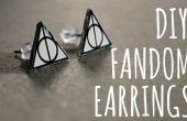 DIY FANDOM oorbellen