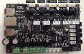 Setup van externe stuurprogramma op Smoothieware Sbase 1.2 Controller met behulp van E1 pinnen!