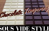 Chocolade ontlaten: Sous Vide stijl