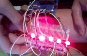 Arduino 1-12 knipperende led matrix