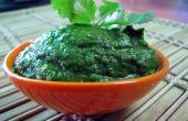 Gezonde & heerlijke groene Indiase Chutney (Dip)