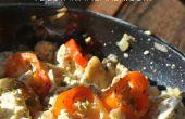 Hoe maak je veganistisch Tofu roerei | Eenvoudig ontbijt recept
