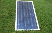 Met behulp van zonne-cellen, om glas frame DIY Solar Panel