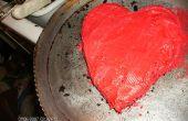 Valentijn hart taart