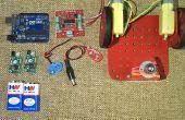 Obstakel ontwijkt Robot met behulp van de Arduino Uno en de nabijheid van de IR Sensor