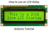 Het gebruik van een LCD-scherm - Arduino tutorial Arduino Tutorial