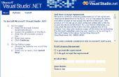 Visual Studio .NET 2002 installeert in 64-bits Windows