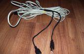 USB-kabels met behulp van telefoon Jack kabel verlengen