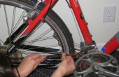 Roest verwijderen met een fiets met limoensap