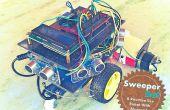 Zelfgemaakte Cleanning Robot met Bluetooth