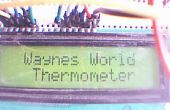 Arduino LCD Thermometer met LM35 Temp Sensor