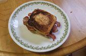 Bird's Nest ontbijt Sandwich (nieuwe draai aan een oude favoriet)