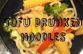 Noedels van tofu dronken