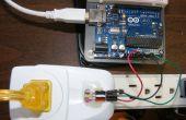 Vereenvoudigd Arduino AC huidige meting met behulp van ACS712 Hall Effect Sensor