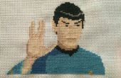 Star Trek Cross Stitch: Spock