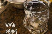 Hoe te de afwas (met zeer weinig water!)