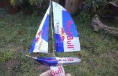 Red Bull blikje-Yacht