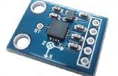 Interfacing versnellingsmeter ADXL 335 met een boord van Mediatek LinkIt