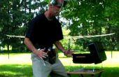 Achtertuin BBQ-Utility gordel & drinken helm van Duct Tape