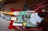 Beheersing van een stappenmotor met de Raspberry Pi en Piface