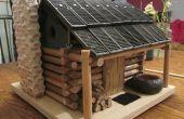 Blokhut Birdhouse - aan schaal!