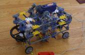 4 wiel Steering - Knex auto