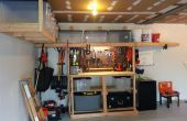 Garage-opslag/Work Bench