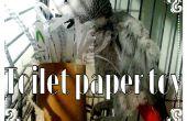 Toiletpapier rol vogel speelgoed