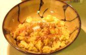 Hoe krabbelde pannenkoeken maken:
