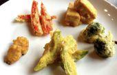 Tempura groenten en Tofu