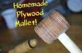 Maak je eigen multiplex hamer! | DIY houtbewerking Tools #1