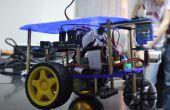 DIY autonome Line Tracking met obstakel te vermijden Robot (Rover)