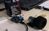 Het gebruik van uw MotorShield met gelijkstroommotoren