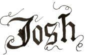 Hoe te schrijven in gotische kalligrafie