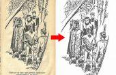 Zwarte afbeelding van een geel papier een Witboek (easy Way)