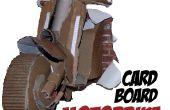 Maak een levensgrote 3D kartonnen motor