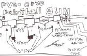 PVC-cpvc paintball pistool