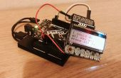 Met behulp van Pimoroni Display-O-Tron met arduino