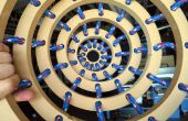 3D naaien: ringen met touw